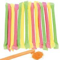 Filled Candy Straws
