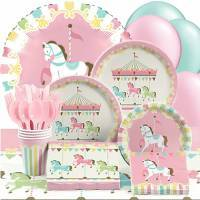 Carousel Baby Shower Party Supplies