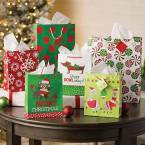 Christmas Bags, Boxes and Tags