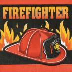 Fire Truck & FireFighter Party Supplies