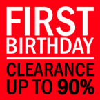 1st Birthday Clearance