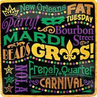 Mardi Gras Party Supplies & Decorations