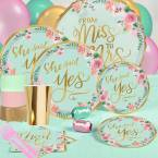 *Mint To Be Bridal Shower Party Supplies