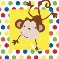 Monkey 1st Birthday Party Supplies