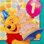 Pooh First Birthday Party Supplies