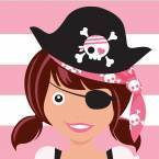 Pirate Girl Birthday Party Supplies