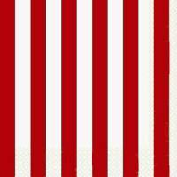 Red Striped Party Supplies