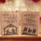 Religious Christmas Bags, Boxes & Tags