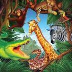 Safari & Zoo Birthday Party Supplies