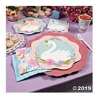 *Swan 1st Birthday Party Supplies