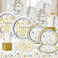 Twinkle Star Metallic Baby Shower Party S