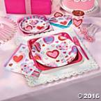 Valentines Party Tableware
