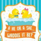 Waddle it Be Gender Reveal Shower