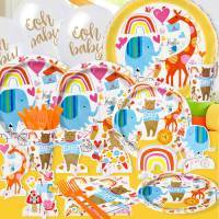 *Trendy Zoo Baby Shower Party Supplies